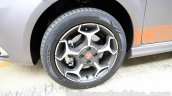 Fiat Punto Abarth grey alloy wheel for India