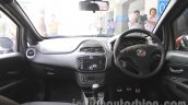 Fiat Punto Abarth grey dashboard for India