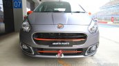 Fiat Punto Abarth grey front for India