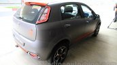 Fiat Punto Abarth grey rear three quarter right for India