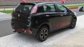 Fiat Punto Abarth rear three quarter for India