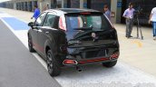 Fiat Punto Abarth rear three quarters for India