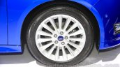 Ford Focus alloy wheel at the Indonesia International Motor Show 2015