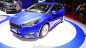 Ford Focus front three quarter at the Indonesia International Motor Show 2015