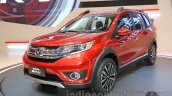 Honda BR-V front three quarter at Gaikindo Indonesia International Auto Show 2015