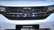 Honda BR-V white chrome grille at Gaikindo Indonesia International Auto Show 2015