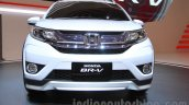 Honda BR-V white front fascia at Gaikindo Indonesia International Auto Show 2015