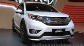Honda BR-V white front left at Gaikindo Indonesia International Auto Show 2015