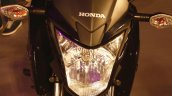 Honda CB Hornet 160R headlight from the showcase in India