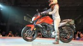 Honda CB Hornet 160R side profile