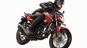 Honda CB150R Street Fire front three quarter official image