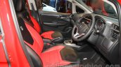 Honda Jazz RS CVT Limited Edition front cabin at the 2015 Indonesia International Motor Show