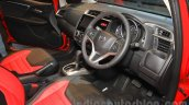 Honda Jazz RS CVT Limited Edition interior at the 2015 Indonesia International Motor Show