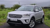 Hyundai Creta Diesel AT front angle Review