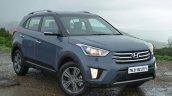 Hyundai Creta Diesel front fascia Review