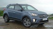 Hyundai Creta Diesel front quarter angle Review