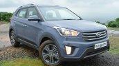 Hyundai Creta Diesel front quarters Review