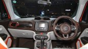 Jeep Renegade Limited dashboard at the Indonesia International Motor Show 2015
