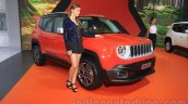 Jeep Renegade Limited front at the Indonesia International Motor Show 2015