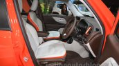 Jeep Renegade Limited front seats at the Indonesia International Motor Show 2015