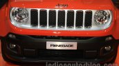 Jeep Renegade Limited grille at the Indonesia International Motor Show 2015