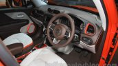 Jeep Renegade Limited interiors at the Indonesia International Motor Show 2015