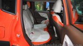 Jeep Renegade Limited rear seats at the Indonesia International Motor Show 2015