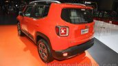 Jeep Renegade Limited rear three quarter at the Indonesia International Motor Show 2015