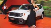Jeep Renegade front three quarter at the Indonesia International Motor Show 2015
