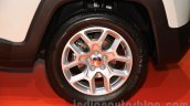 Jeep Renegade wheel at the Indonesia International Motor Show 2015