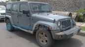 Jeep Wrangler Unlimited front three quarter spied