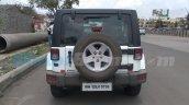 Jeep Wrangler rear spied