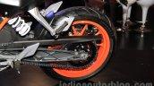 KTM Duke 250 rear wheel at the Indonesia International Motor Show 2015 (IIMS 2015)