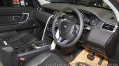 Land Rover Discovery Sport dashboard at the 2015 Gaikindo Indonesia International Motor Show (2015 GIIAS)