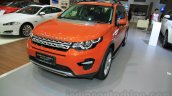 Land Rover Discovery Sport front three quarter right at the 2015 Gaikindo Indonesia International Motor Show (2015 GIIAS)