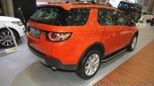 Land Rover Discovery Sport rear three quarters right at the 2015 Gaikindo Indonesia International Motor Show (2015 GIIAS)
