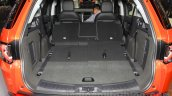 Land Rover Discovery Sport seat folded at the 2015 Gaikindo Indonesia International Motor Show (2015 GIIAS)