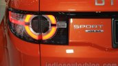 Land Rover Discovery Sport taillamp at the 2015 Gaikindo Indonesia International Motor Show (2015 GIIAS)