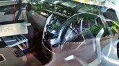Mahindra S101 front cabin interiors spied