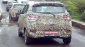 Mahindra S101 rear three quarter spotted testing with production-spec exterior
