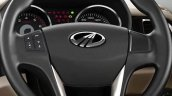 Mahindra TUV300 steering wheel and instrument cluster revealed in teaser