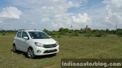 Maruti Celerio ZDI (O) DDiS 125 front three quarter far review