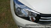 Maruti Celerio ZDI (O) DDiS 125 headlamp chrome applique review