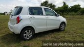 Maruti Celerio ZDI (O) DDiS 125 rear three quarter review