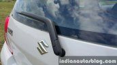 Maruti Celerio ZDI (O) DDiS 125 rear wiper review