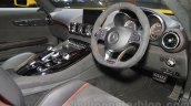 Mercedes AMG GT S dashboard at the Gaikindo Indonesia International Auto Show 2015