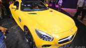 Mercedes AMG GT S front three quarter at the Gaikindo Indonesia International Auto Show 2015