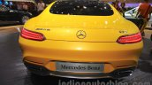 Mercedes AMG GT S rear at the Gaikindo Indonesia International Auto Show 2015