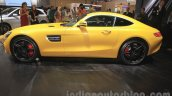 Mercedes AMG GT S side at the Gaikindo Indonesia International Auto Show 2015