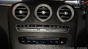 Mercedes GLC air vents at the Indonesia International Motor Show 2015